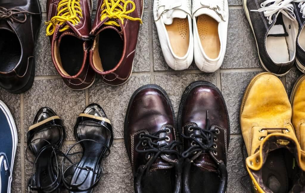 靴の臭いは雑菌が繁殖している